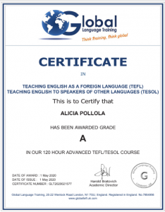 Certificado-Alicia-Pollola-beach-and-languages
